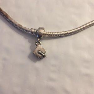 Pandora graduation charm